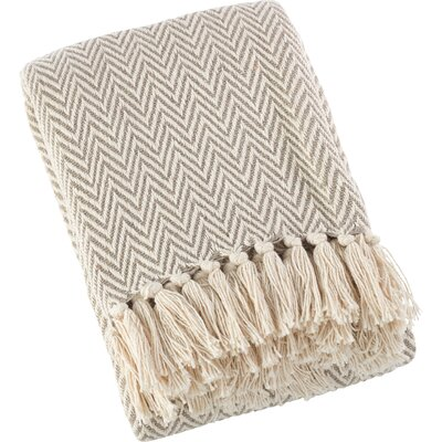 Sawyer Chevron Soft Cotton Throw