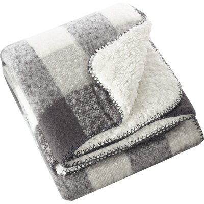 Mantua Faux Mohair Sherpa Throw