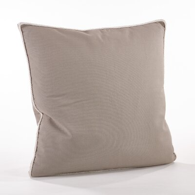 Madalena Cotton Throw Pillow Color: Gray