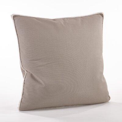 Madalena Cotton Throw Pillow Color: Gray