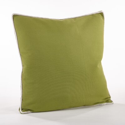 Madalena Cotton Throw Pillow Color: Kiwi