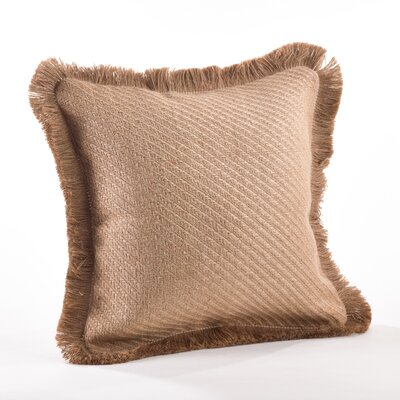 Tela Ruvida Jute Throw Pillow