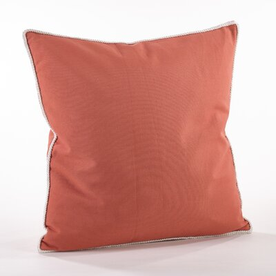 Madalena Cotton Throw Pillow Color: Clay