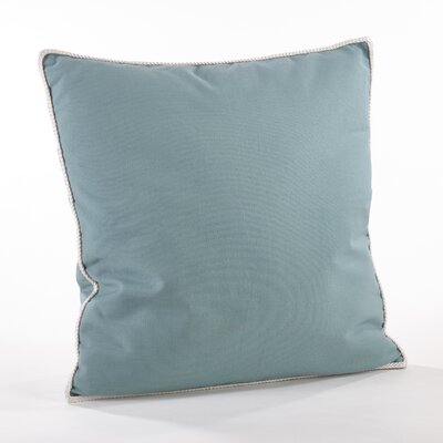 Madalena Cotton Throw Pillow Color: Ocean Blue