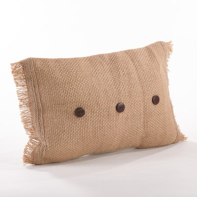 Tela Ruvida Jute Lumbar Pillow