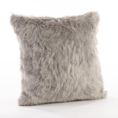 Juneau Throw Pillow Color: Gray