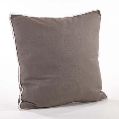 Madalena Cotton Throw Pillow Color: Slate