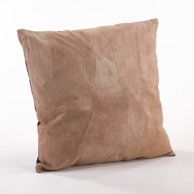 The Corium Leather Throw Pillow