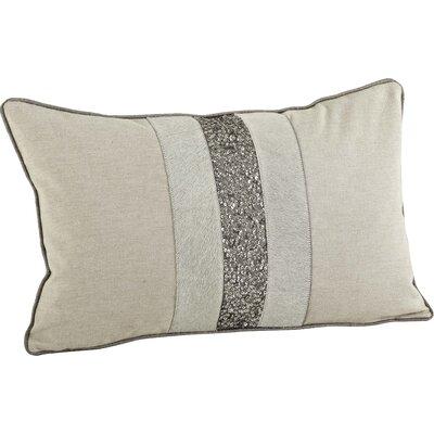 The Posh Beaded Cotton Lumbar Pillow