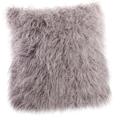 Moravia Throw Pillow Color: Fog