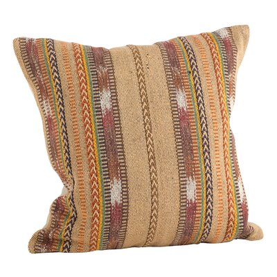 Southwestern Hand-Loomed 100% Cotton Throw Pillow