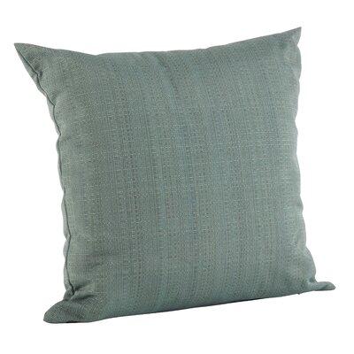 Verrett Solid Indoor/Outdoor Throw Pillow Color: Duck Egg Blue, Size: 17 H x 17 W