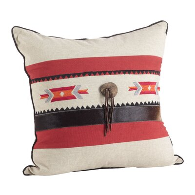 Native Southwestern Embroidered Design Throw Pillow