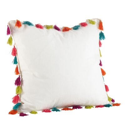 Vivace 100% Cotton Throw Pillow