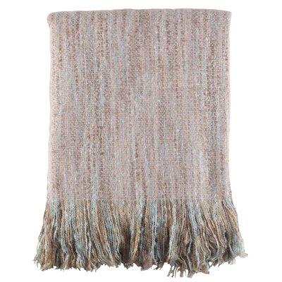 Maricela Fringe Hem Blanket Color: Natural