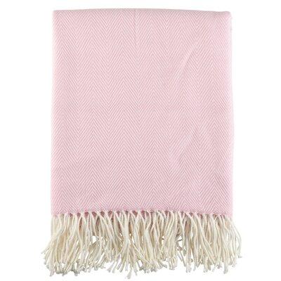 Ketner Herringbone Tassel Fringe Blanket