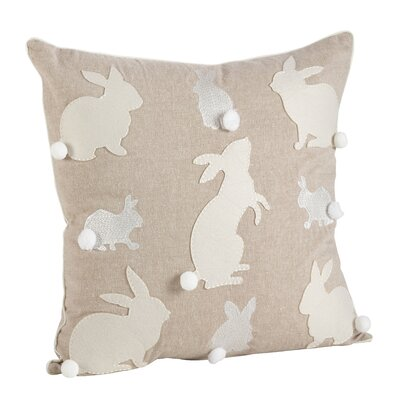 Wonderland Cotton Throw Pillow