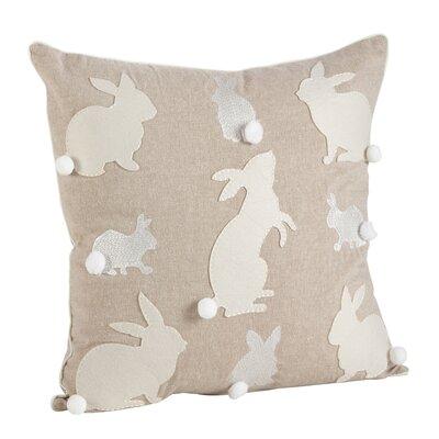 Wonderland Cotton Throw Pillow