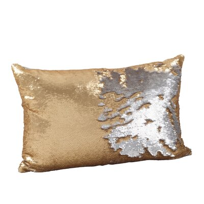 Sequin Mermaid Lumbar Pillow