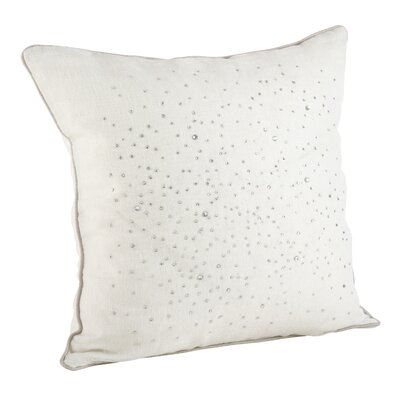 Brillare Throw Pillow Color: Ivory