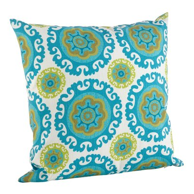 Kaleidoscope Poly Filled Indoor/Outdoor Throw Pillow Size: 21 H x 21 W