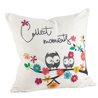 Vivace 100% Cotton Throw Pillow