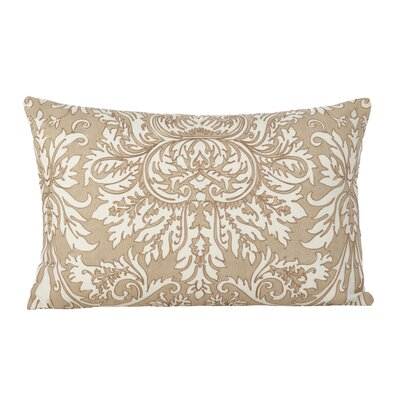 AuCoin Stitched Medallion Cotton Lumbar Pillow