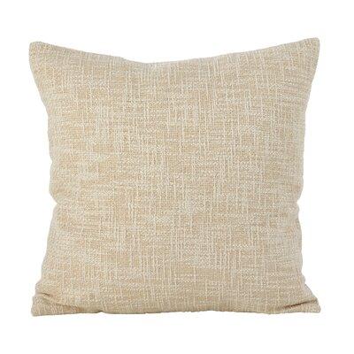 Mirada Woven Metallic Throw Pillow Color: Gold