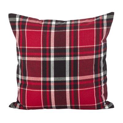 Ellery Tartan Plaid Print Cotton Throw Pillow