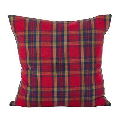 Alvaro Classic Tartan Plaid Print Holiday Cotton Throw Pillow