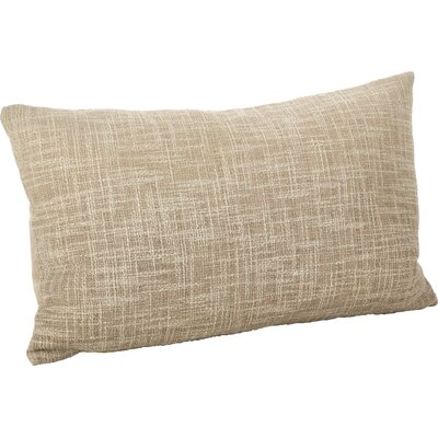 Lancaster Ombre Cotton Lumbar Pillow Color: Natural