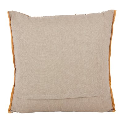 Kanoe-Chaoue Beaded Aztec Cotton Throw Pillow