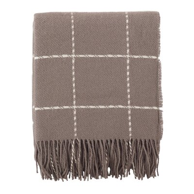 Mantua Geometric Throw Color: Natural