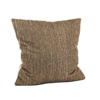Seed Bead Cotton Throw Pillow