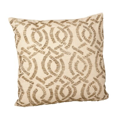 Eloise Cotton Throw Pillow Color: Bronze