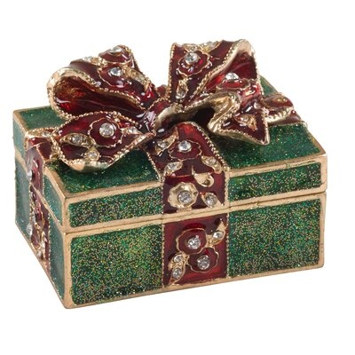 Christmas Holiday Gift Jewelry Box