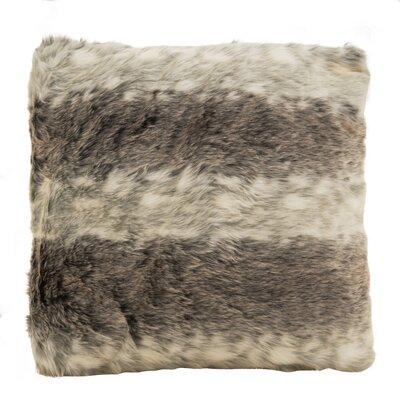 Baxter Plush Soft Poly Filled Faux Fur Throw Pillow