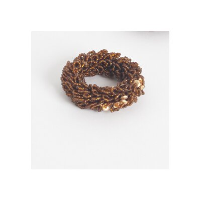 Beaded Napkin Ring (Set of 4) Color: Copper NR252.CO