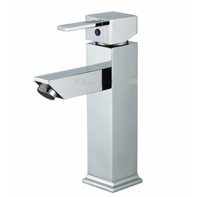 Single Handle Single Hole Vessel Sink Faucet Finish: Chrome