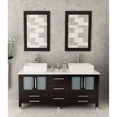 72 Double Bathroom Vanity Set with Mirror