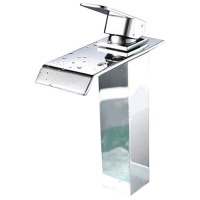 Single Handle Single Hole Waterfall Vessel Sink Faucet