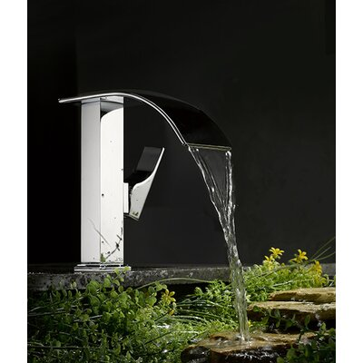 Single Handle Single Hole Bathroom Waterfall Faucet
