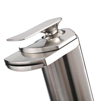 Single Handle Single Hole Vessel Bathroom Waterfall Faucet