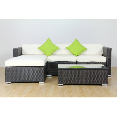 6 Piece Deep Seating Group with Cushions