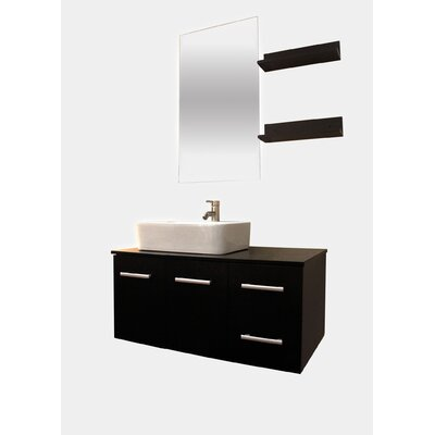 35.5 Single Bathroom Vanity with Mirror