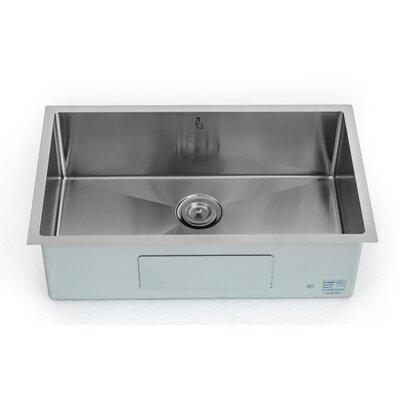 30 x 18 Single Bowl Undermount Kitchen Sink