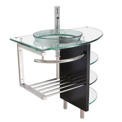 32 Single Vessel Bathroom Vanity Set