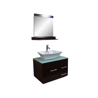 29 Single Bathroom Vanity Set with Mirror