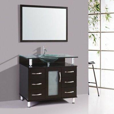 Port Augusta 32 Single Bathroom Vanity Set with Mirror