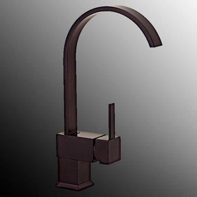 Single Level Handle Kitchen Sink Faucet Finish: Oil Rubbed Bronze